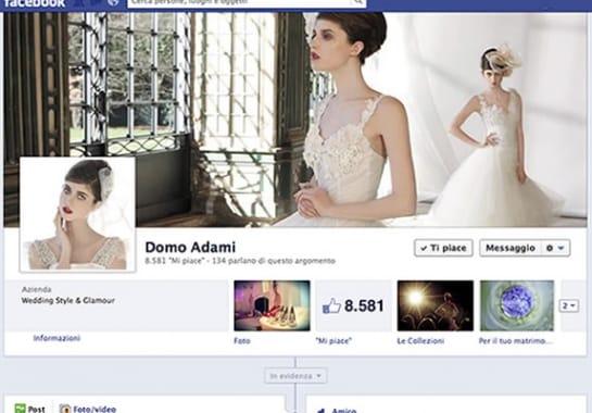Progetto realizzato per DOMO ADAMI da Ermes Digital, Sudio grafico, web e seo Milano