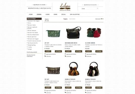 Progetto realizzato per LELYCA da Ermes Digital, Sudio grafico, web e seo Milano